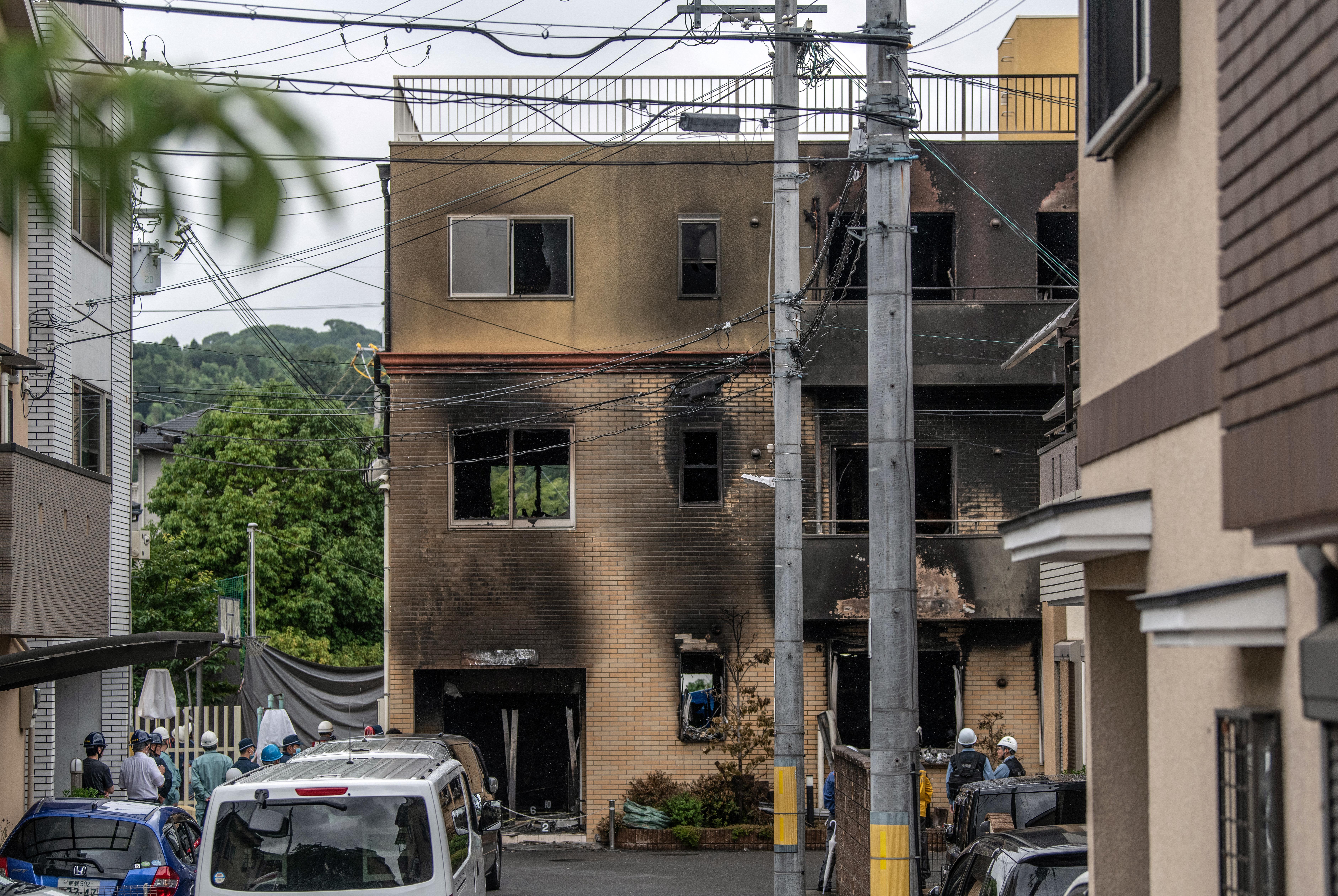 Shinzo Abe Kyoto Fire
