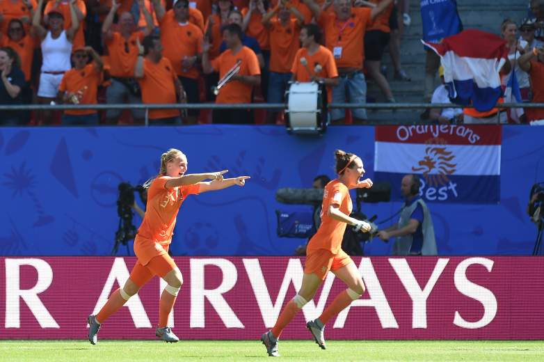 Playing in only their second World Cup, the Netherlands Women's Soccer Team is one game away from reaching the Final. Standing in their way - a matchup with Sweden on Wednesday.