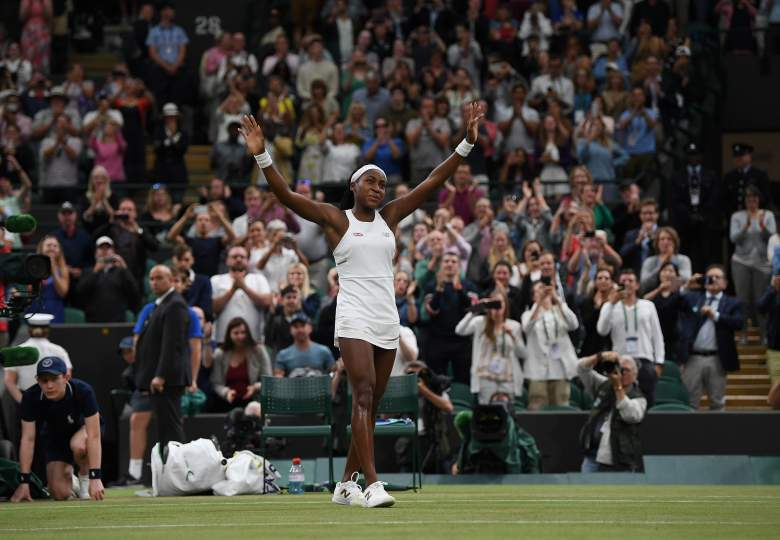 Coco Gauff continued her amazing run at the All England Club, beating Magdalena Rybarikova to advance to the third round at Wimbledon.