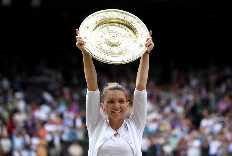 Simona Halep beat Serena Williams to win her first Wimbledon title on Saturday.