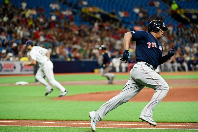 The Red Sox beat the Rays 9-4 on Monday night, and now only one game separate them in the standings.