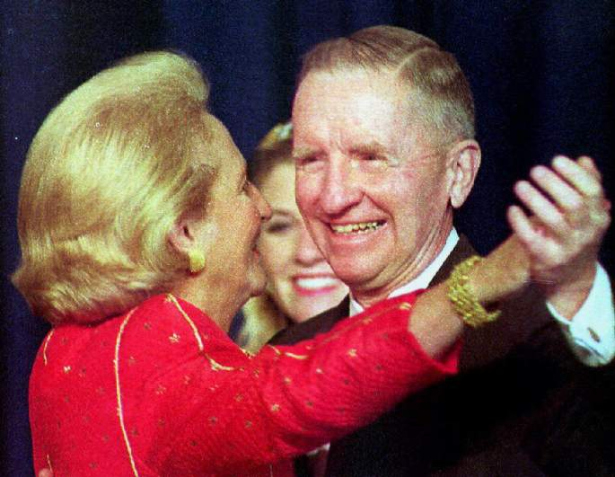 ross perot wife