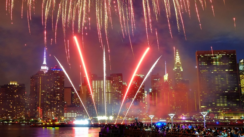 Where to Watch Fireworks NYC 2019