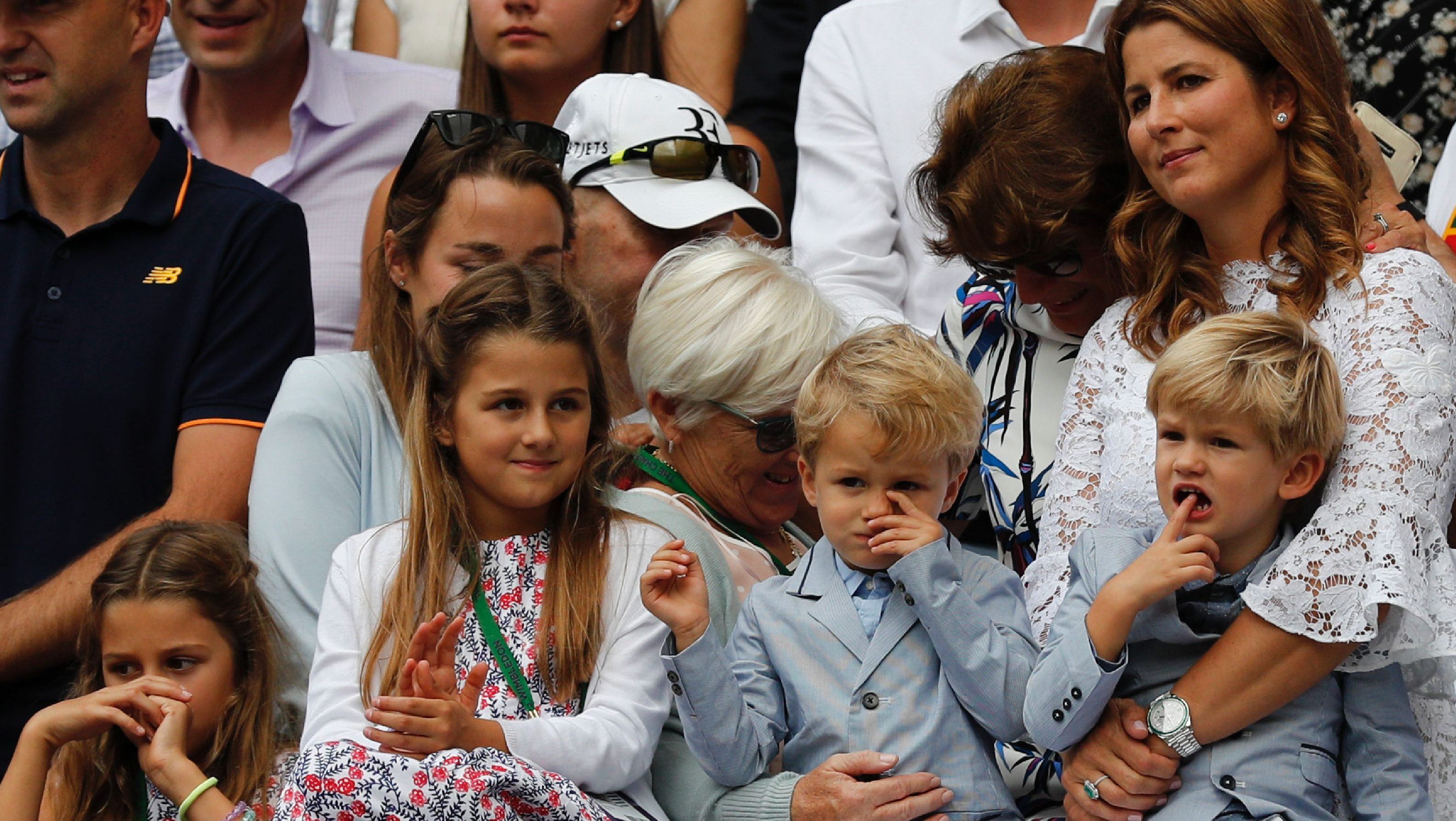 Roger Federer's Kids Include 2 Sets of Twins