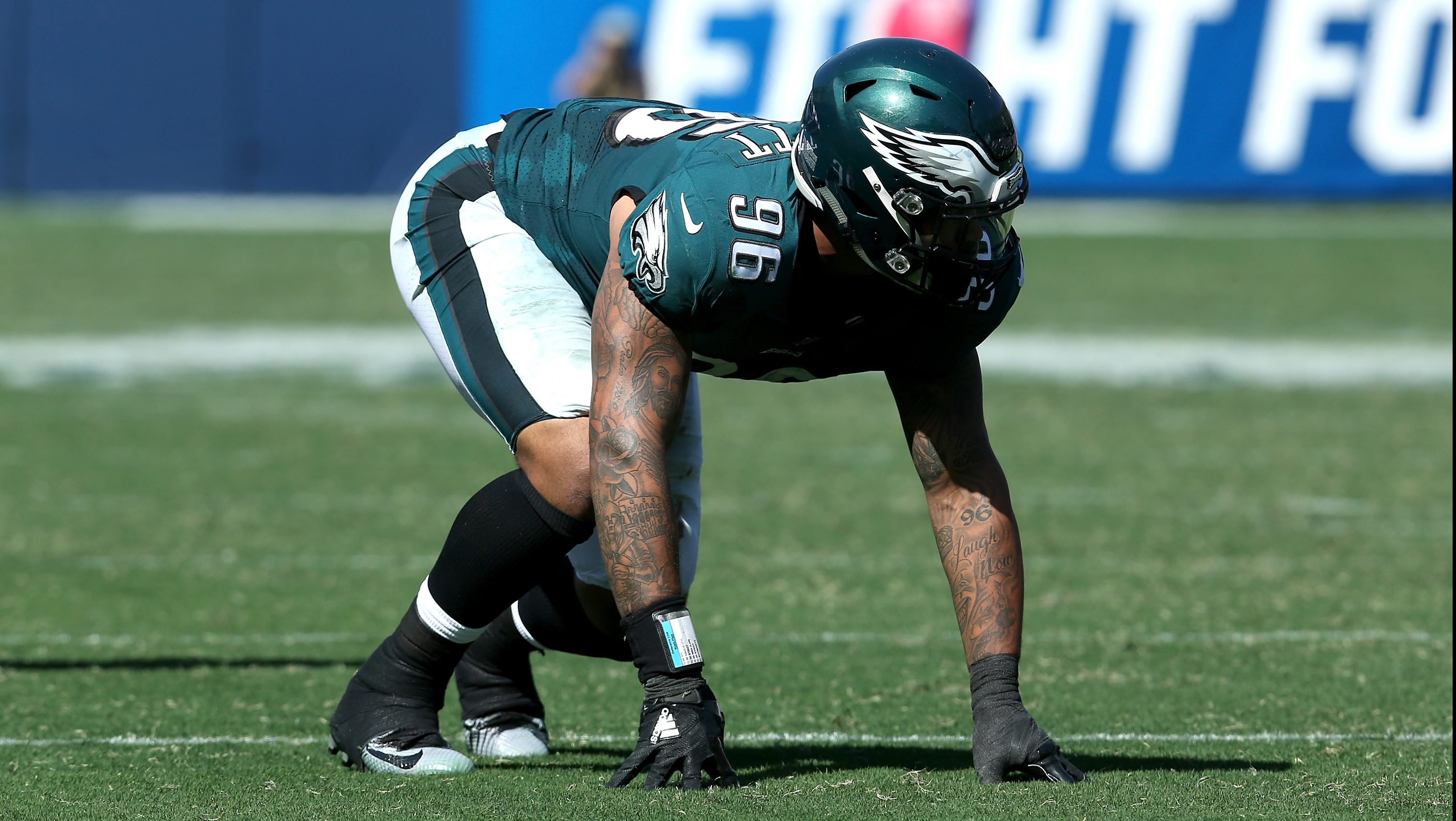 Eagles All-Pro Says DE Derek Barnett 'Worked His Butt Off'