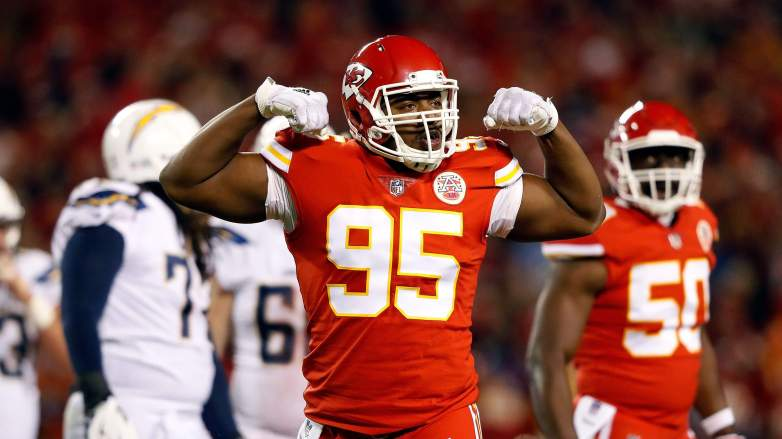 Kansas City Chiefs Chris Jones