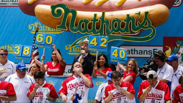 Watch Nathan's Hot Dog Eating Contest Online