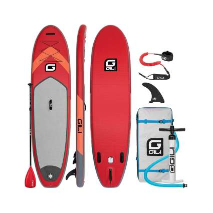 GILI All Around Inflatable Stand Up Paddle Board Package