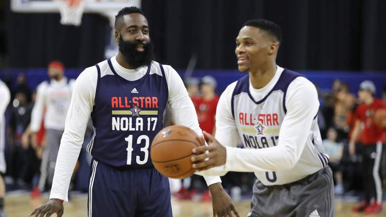 Russell Westbrook James Harden Stats Trade