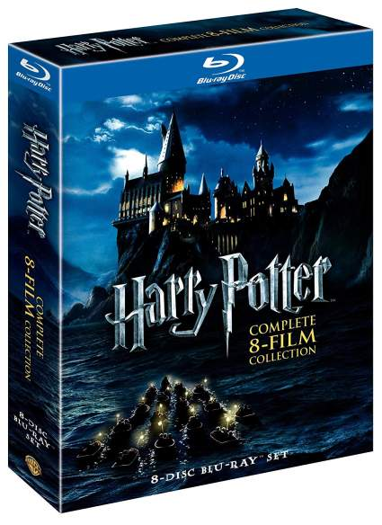 harry potter blu ray collection