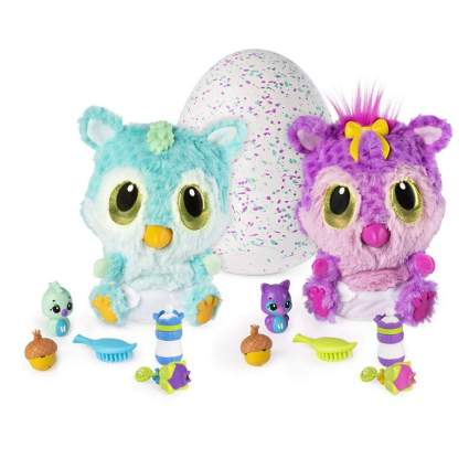 Hatchimals, HatchiBabies Chipadee, Hatching Egg with Interactive Toy Pet Baby (Styles May Vary