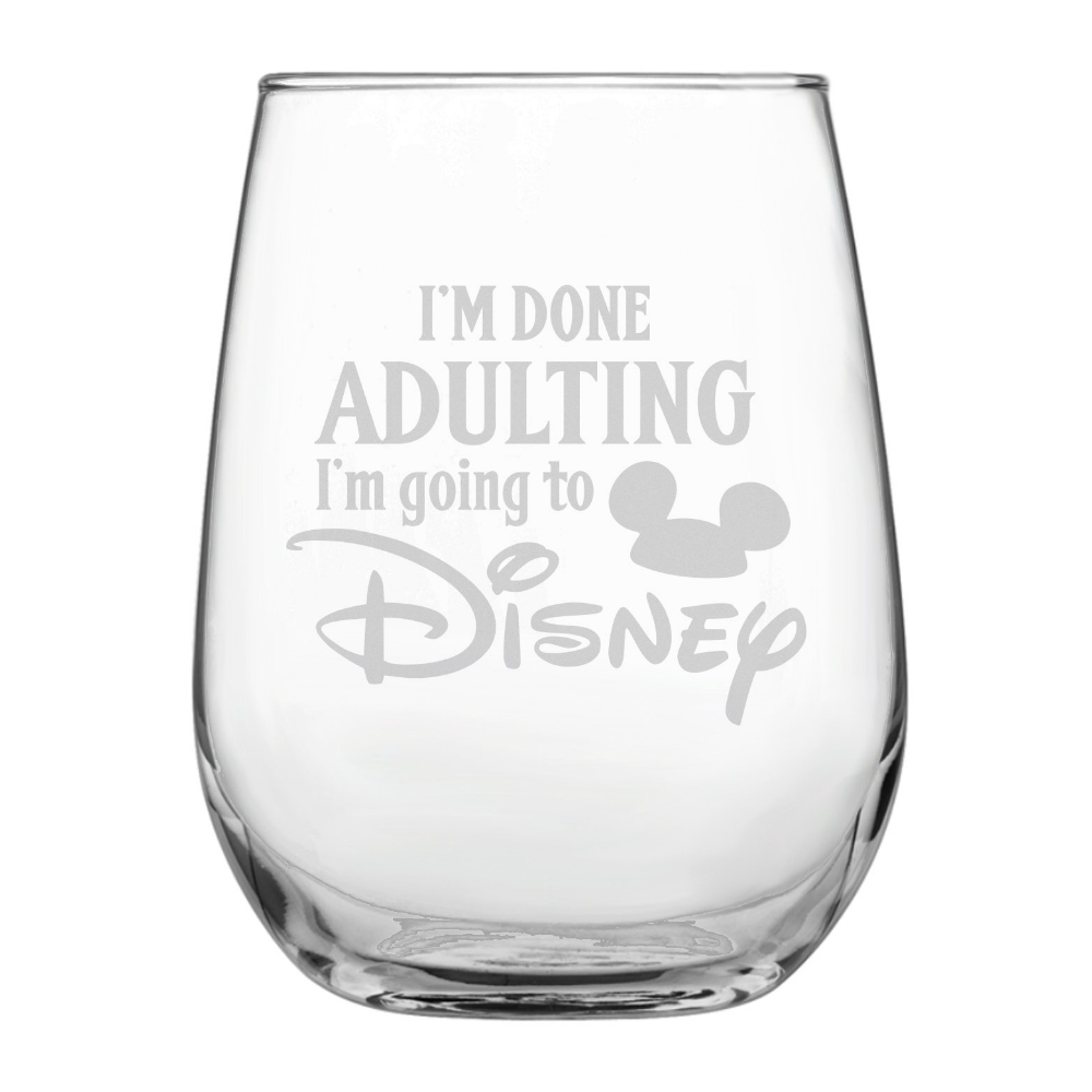 Hand Painted Free Personalization Listing for 1 glass. Your choice of Disney princess Bridal party glass