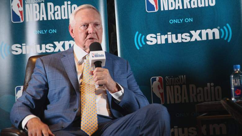 Jerry West Clippers Lakers