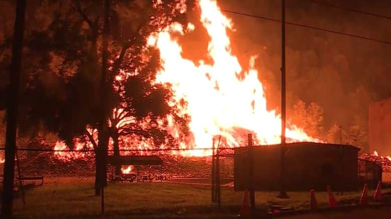 WATCH: Massive Fire at Jim Beam Facility [Video]
