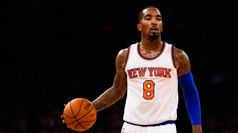 J.R. Smith Release Knicks