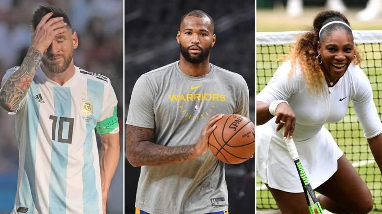 NBA Free Agency Wimbledon Messi