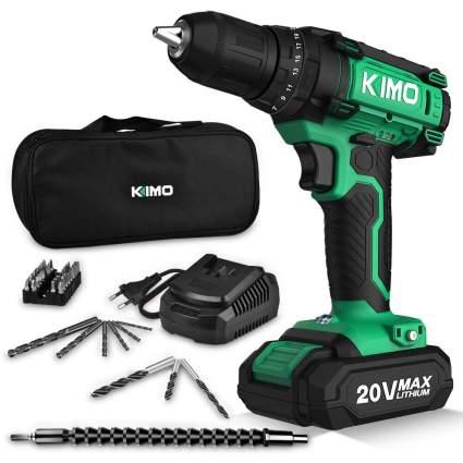 kimo 20v cordless drill