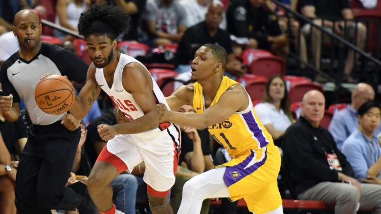 Chicago Bulls Summer League roster Coby White