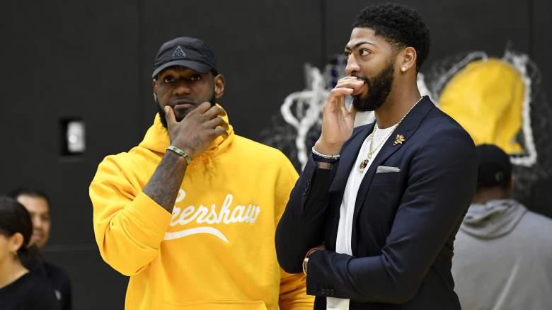 Lakers LeBron James Anthony Davis