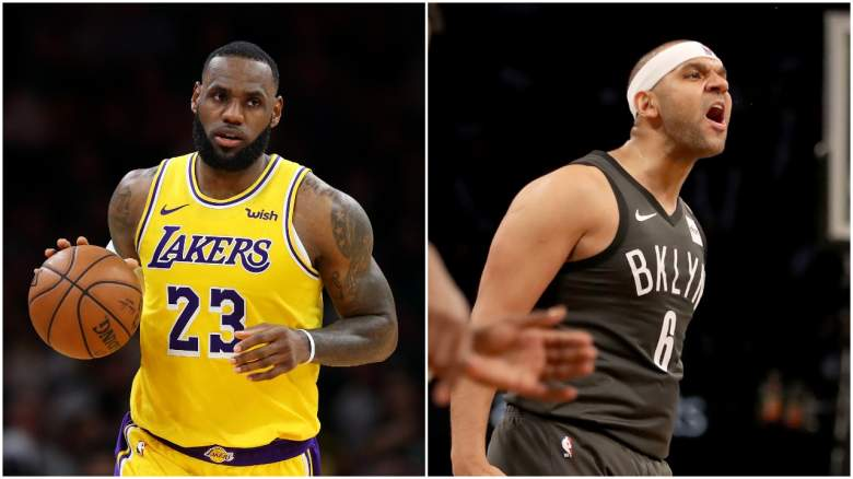 LeBron James Jared Dudley Lakers