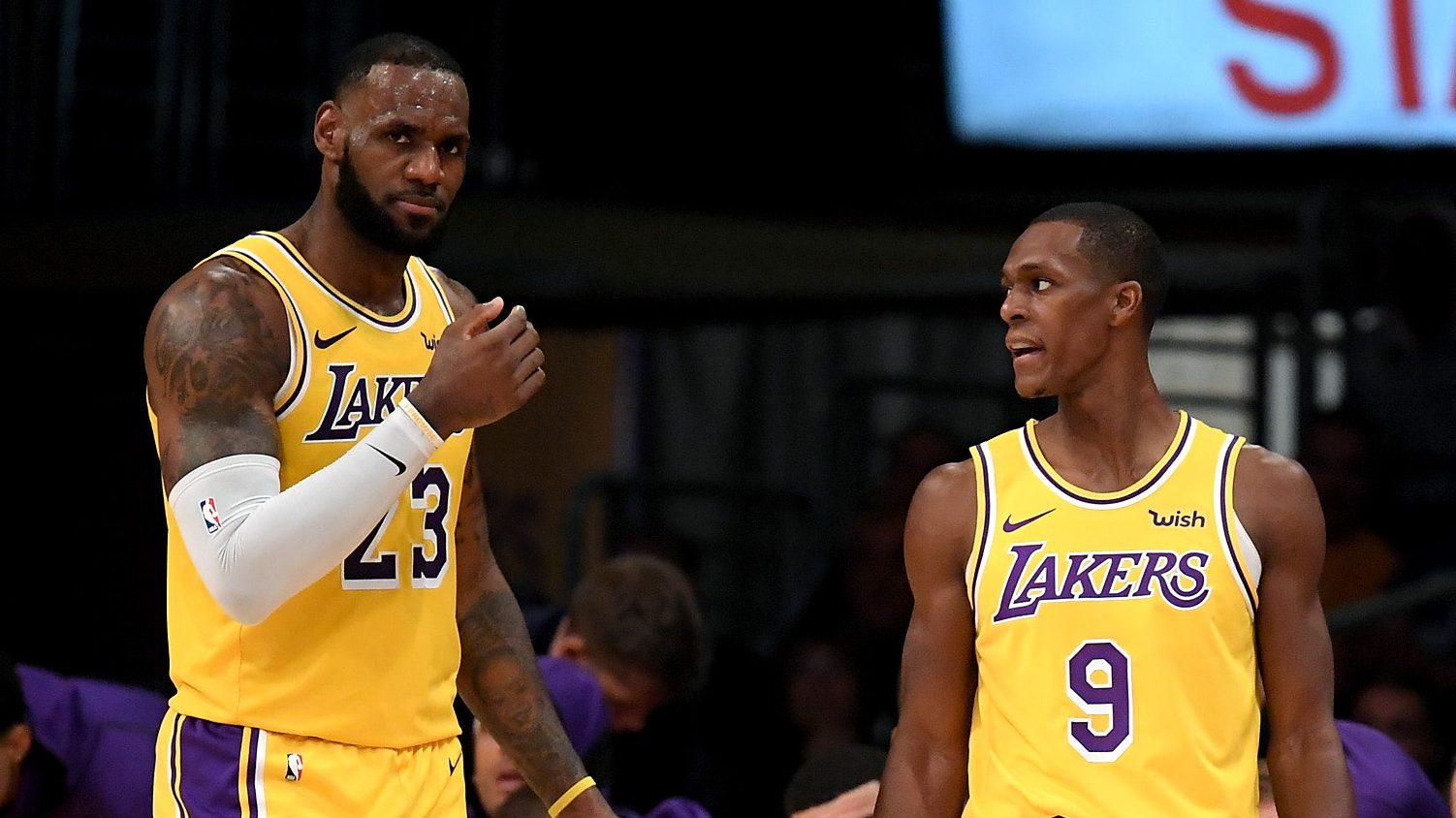 Lakers Roster Starting Lineup LeBron James