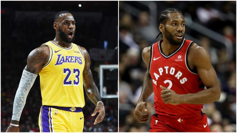 Lakers Kawhi Leonard free agency LeBron James