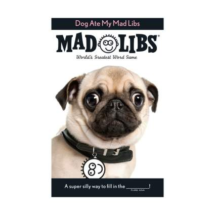 mad libs gifts for dog lovers
