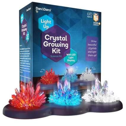 Mini Explorer Light-up Crystal Growing Kit