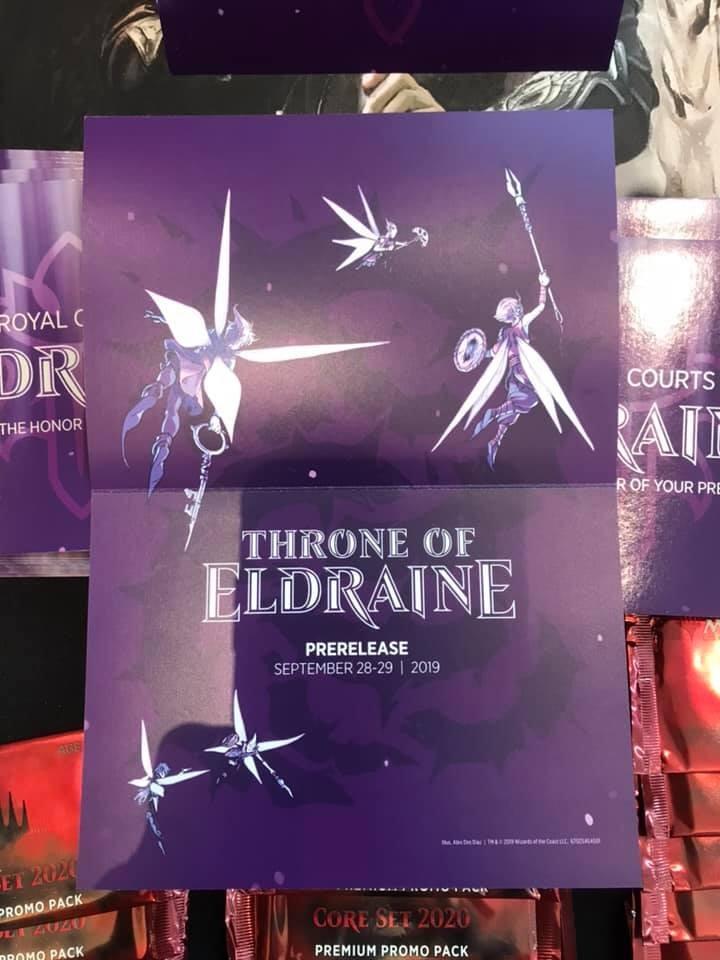 MTG Throne of Eldraine faeries