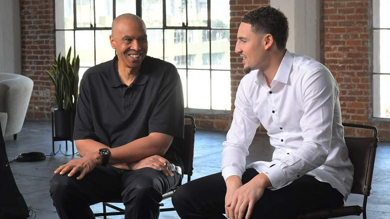 Mychal Thompson Lakers Starting Lineup