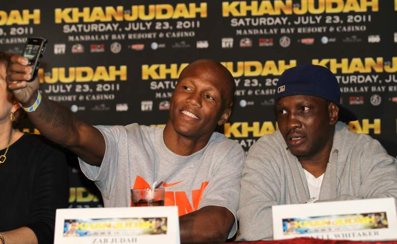 Pernell Whitaker and Zab Judah