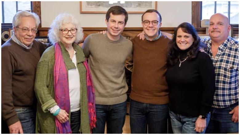 pete buttigieg family