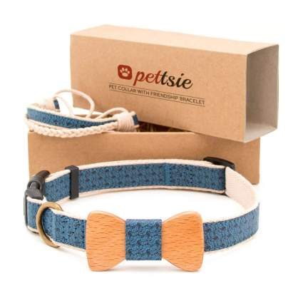 pettsie matching dog collar and bracelet gifts for dog lovers