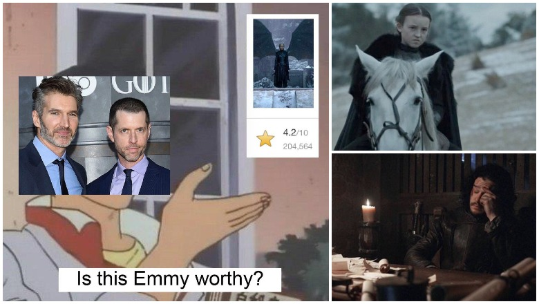 D&D Emmy Memes