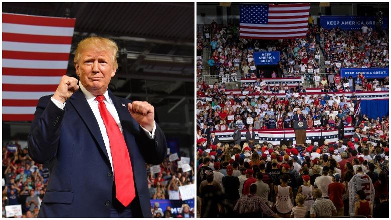 Trump Greenville Rally