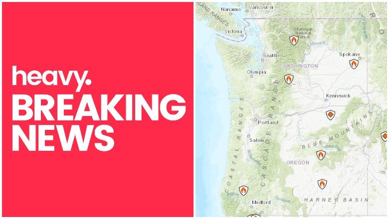 Oregon and Washington fires