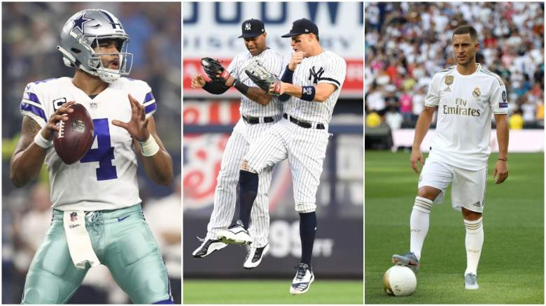 The Dallas Cowboys, New York Yankees and Real Madrid topped Forbes Magazine's list of the world's most valuable sports teams.