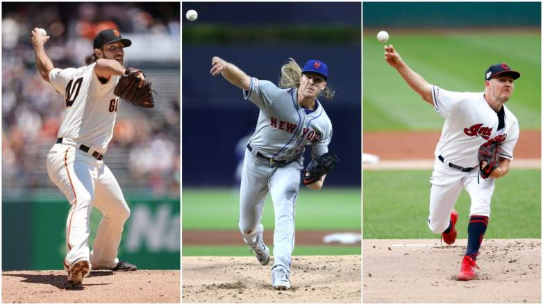An MLB arms race is shaping up for next week's Trade Deadline. Where will Bumgarner, Noah Syndergaard and Bauer be playing next week?