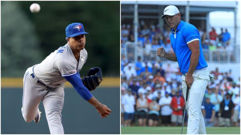 Topping Monday's sports headlines, Marcus Stroman was traded to the Mets and Brooks Koepka won the WGC event in Memphis.