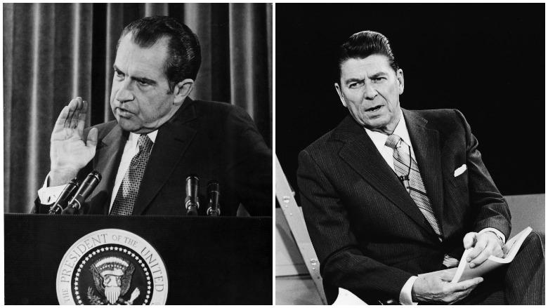 Richard Nixon, Ronald Reagan