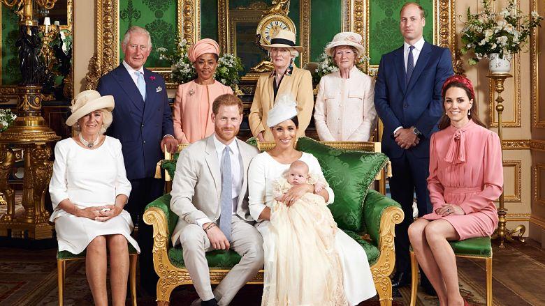 Royal Baby Christening photo