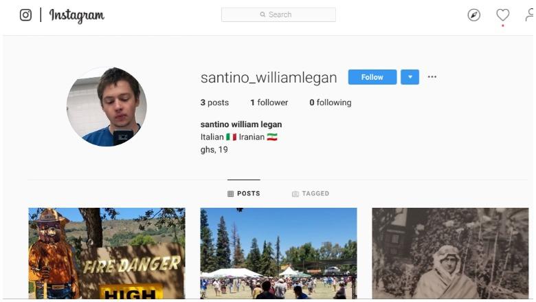 Santino William Legan IG