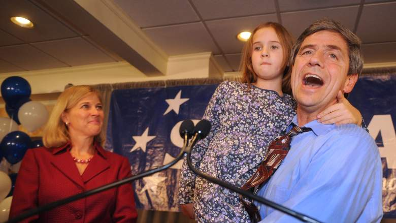 Joe Sestak, wife Susan and daughter Alex