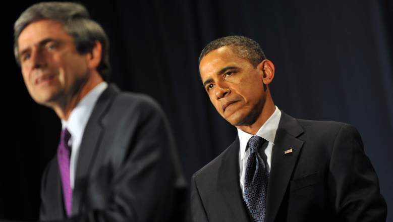 Joe Sestak and Barack Obama