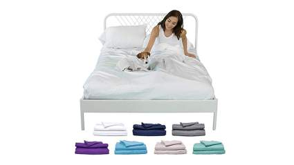 eucalyptus lyocell bed sheets