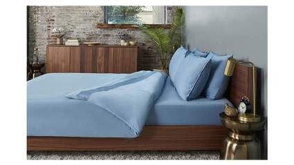 blue cooling sheet set