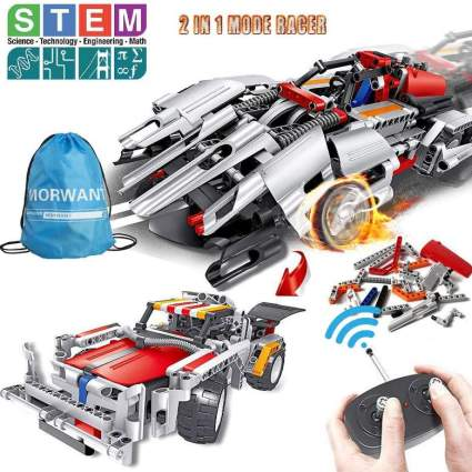 STEM Building Toys, Remote Control Racer Learning Kits