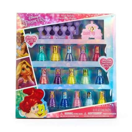 Townley Girl Disney Princess Non-Toxic Peel-Off Nail Polish Set for Kids