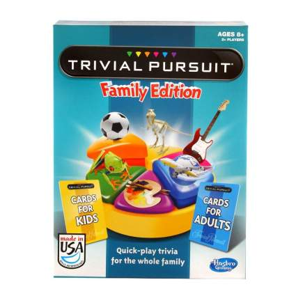 Trivial Pursuit Family Edition Game (Amazon Exclusive)