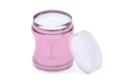 Pink nail art stamper from TwinkledT